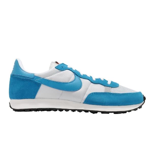 Nike 休閒鞋 Challenger OG UNC 白 藍 北卡藍 男鞋 復古慢跑鞋 運動鞋 【ACS】 CW7645-001