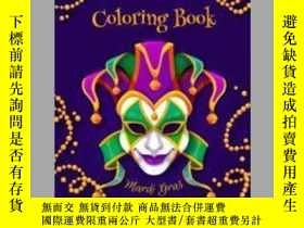 二手書博民逛書店Mardi罕見Gras Coloring BookY405706 Abc Amuse 出版2020