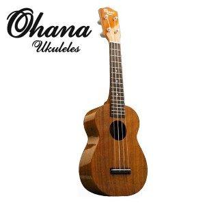 【夏威夷小吉他】 【21吋烏克麗麗】Ohana KOA SK100G【烏克麗麗】【相思木】