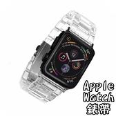 Apple Watch錶帶-樹脂蝴蝶扣個性替換表帶12款73pp733【時尚巴黎】