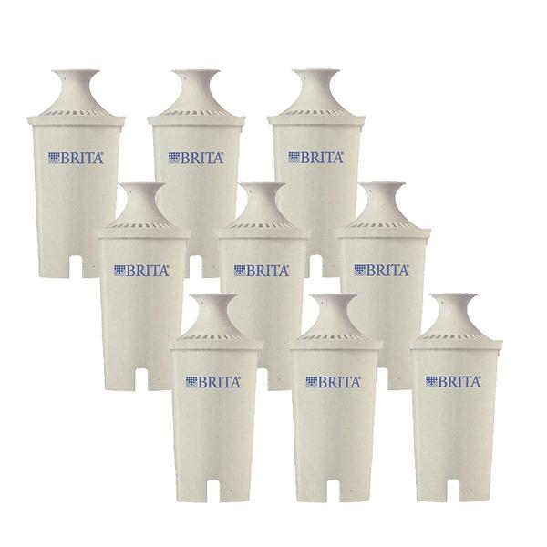 [可加購499送4L濾水壺] Brita 濾水壺專用圓形濾心/濾芯 (9入) (和舊款相容,效率更好可過濾151公升)