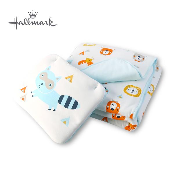 Hallmark Babies森林小動物枕頭被子 HH3-N06-L1-LB-ME