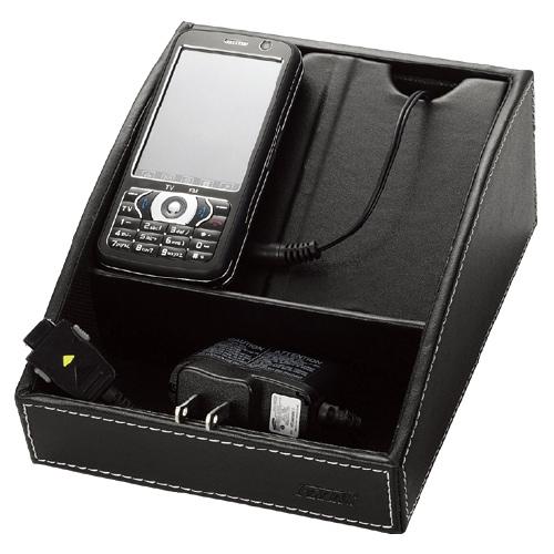 【奇奇文具】波德徠爾 HCS-1116 皮質手機收納/充電盒