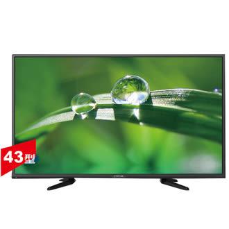 【大同TATUNG】43吋LED液晶顯示器+視訊盒/DC-43A50-LTRI-DCA50