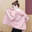 春秋季短款風衣女2020新款韓版寬鬆休閒百搭女士夾克棒球服薄外套 依凡卡時尚