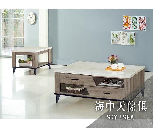 {{ 海中天休閒傢俱廣場 }} J-42 摩登時尚 客廳系列 324-10 芮茲灰橡木4.3x2.3尺大茶几