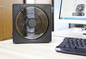 USB桌面風扇8寸安靜大風辦公室室內定時4檔   初語生活