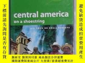 二手書博民逛書店英文原版罕見Lonely Planet Central Amer