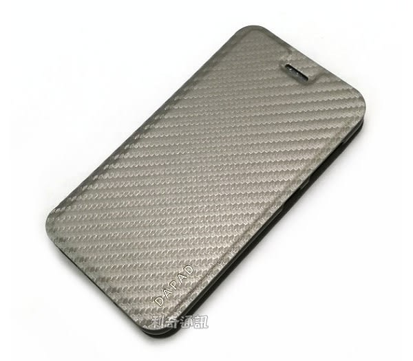【Dapad】卡夢隱扣皮套 ASUS ZenFone Live ZB501KL (5吋)