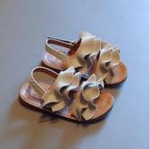 女童涼鞋 女童涼鞋2020夏季時尚新款森系兒童軟底防滑沙灘鞋子小女孩公主鞋 交換禮物