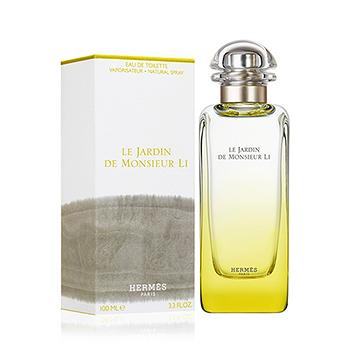 【TZENITH時尚香水網】HERMES LE JARDIN DE MONSIEUR LI 李先生的花園花園淡香水(100ml)