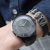 RELAX TIME Classic 經典系列手錶-黑/42mm RT-88-7M