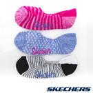 女休閒踝襪三雙入22cm~26cm-條紋粉x圓點粉藍x條紋黑白