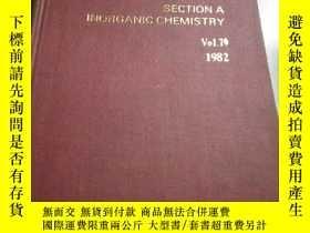二手書博民逛書店Annual罕見Reports(年度報告)Vol.79 1982