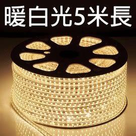 丹大戶外【KAZMI】露營專用5050加寬暖白光燈條/5米長/暖色光/LED/附插頭收納袋/HC806-5