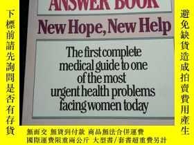 二手書博民逛書店the罕見endimetriosis answer book.、