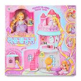 《 MIMI World 》迷你MIMI長髮公主城堡╭★ JOYBUS玩具百貨