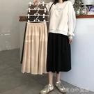 半身裙 氣質黑色半身裙女秋季2020新款...