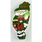 【收藏天地】台灣紀念品專賣*寶島冰箱貼-台北LOVE款  磁鐵 送禮 文創 風景 觀光 批發 禮品 波麗