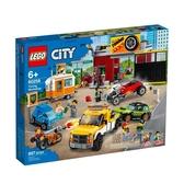 60258【LEGO 樂高積木】城市系列 City-賽車改裝廠 (897pcs)