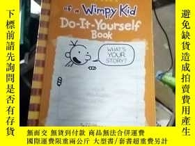 二手書博民逛書店Diary罕見of a Wimpy Kid Do-it-Your