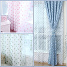 初夏時光窗紗[穿管160x120cm](布紗車一起)(限尺寸、顏色與主布相同)(紗車在布前面)微笑城堡
