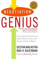 二手書 Negotiation Genius: How to Overcome Obstacles and Achieve Brilliant Results at the Bargaining T R2Y 0553384112