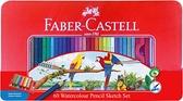 色鉛筆 FABER-CASTELL輝柏 1115965 60色水性色鉛筆【文具e指通】 量販團購A