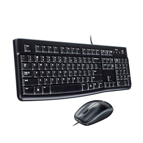 Logitech 羅技 MK120 黑色 標準 鍵盤滑鼠組