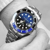 Valentino coupeau黑藍色不鏽鋼錶NEV82