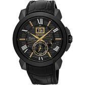 SEIKO 精工錶 Premier KINETIC 人動電能萬年曆腕錶 SNP145J1 熱賣中!
