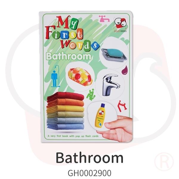 【KIDDY KIDDO】Bathroom(童書)遊戲 策略 推理 益智 幼教