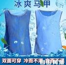 冰馬甲 防暑用品冰涼衣 戶外冰鎮馬甲 降溫神器避暑夏日製冷衣