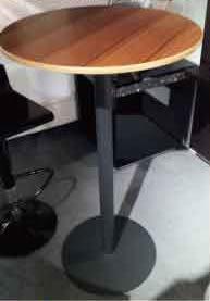 【南洋風休閒傢俱】桌椅桌腳系列 –極品高吧桌美耐板 休閒桌 洽談桌 餐桌(588-13)