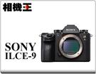 Sony A9 Body〔單機身〕ILCE-9 公司貨