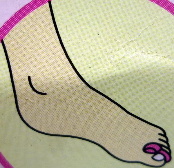 【震撼精品百貨】Hello Kitty 凱蒂貓~腳趾間足部按摩器『粉藍』