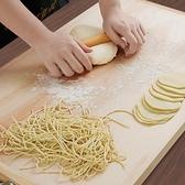 搟面板廚房家用和面板實木大號揉面案板不粘板抗菌防霉柳木切菜板