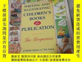 二手書博民逛書店WRITING罕見AND ILLUSTRATING CHILDR