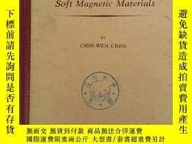 二手書博民逛書店magnetism罕見and metallurgy of sof