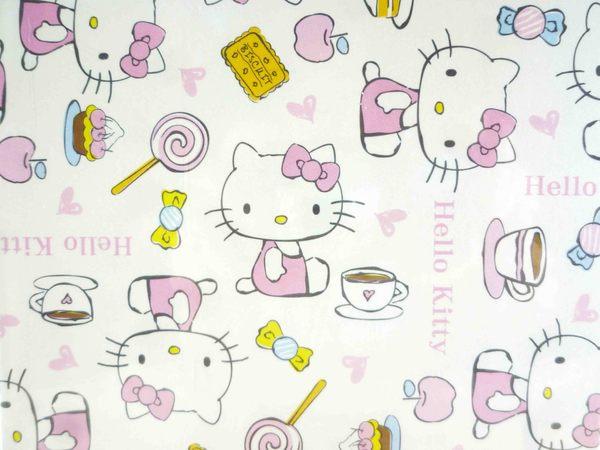 【震撼精品百貨】Hello Kitty 凱蒂貓~kitty證件套-點心粉白