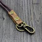 證件套掛繩-真皮頭層牛皮證件套掛繩(不含證件套) AngelNaNa (SMA0297)
