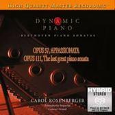 【停看聽音響唱片】【SACD】動態琴皇:貝多芬:鋼琴奏鳴曲 op.57、op.111 / 卡洛.羅森貝格-鋼琴