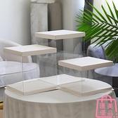 5套 透明蛋糕盒4寸6寸雙層三層包裝盒子打包盒【匯美優品】