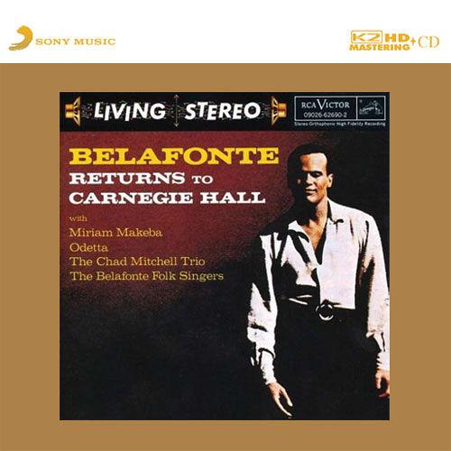 【停看聽音響唱片】【K2HD】 Belafonte Returns to Carnegie Hall