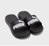 PUMA 黑色休閒涼拖鞋-NO.37227901