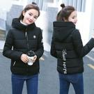 羽絨外套 冬季女裝羽絨棉服女短款韓版修身大碼加厚連帽學生小棉襖外套 - 古梵希