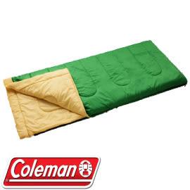 【Coleman 美國 表演者 II 萊姆綠睡袋 C10】CM-27261/睡袋/可機洗睡袋/可以連結★滿額送