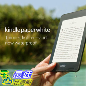 [8美國直購] Kindle Paperwhite (8GB) Now Waterproof with 2x the Storage Includes Special Offers