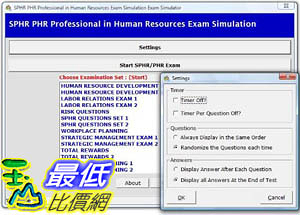 [106美國暢銷兒童軟體] SPHR PHR Study System Professional in Human Resources Certification 3,000 Sample