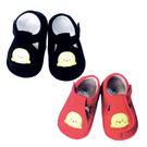 【奇買親子購物網】黃金海獺 WOWOCHAN 俏皮寶寶鞋(深藍色/深紅色)